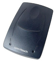 Reconfiguring Speedtouch 530 router modem