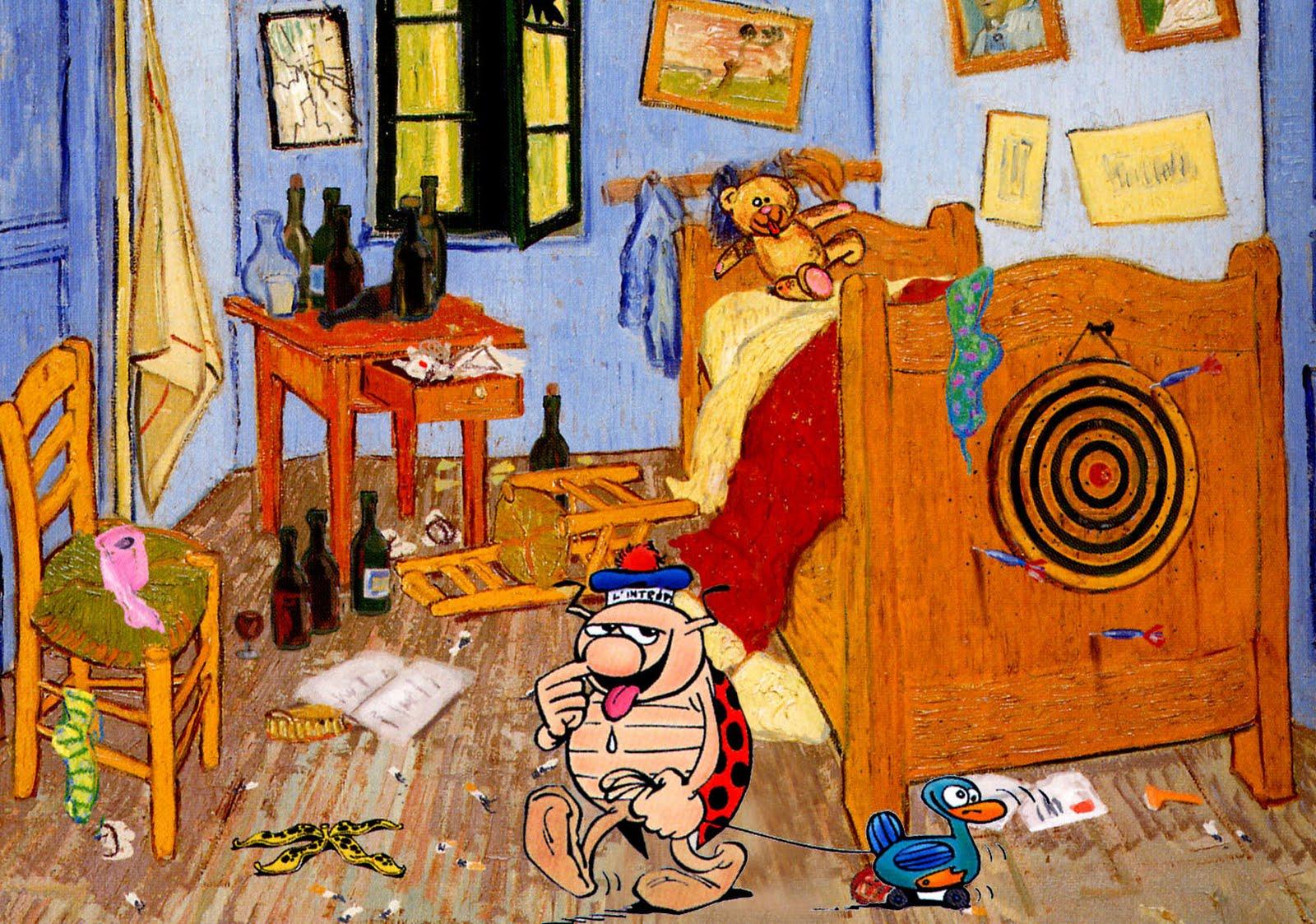 Gotlib Et Ravon La Chambre Jaune Van Gogh ~ Idées Novatrices de la ...
