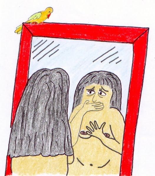 Espelho, espelho meu...o que é isso?