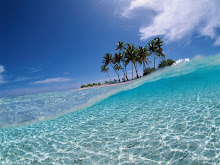 um banho de mar