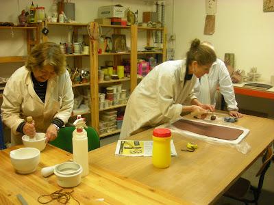 Ceramica guanguali clases de ceramica en espa a for Curso ceramica madrid
