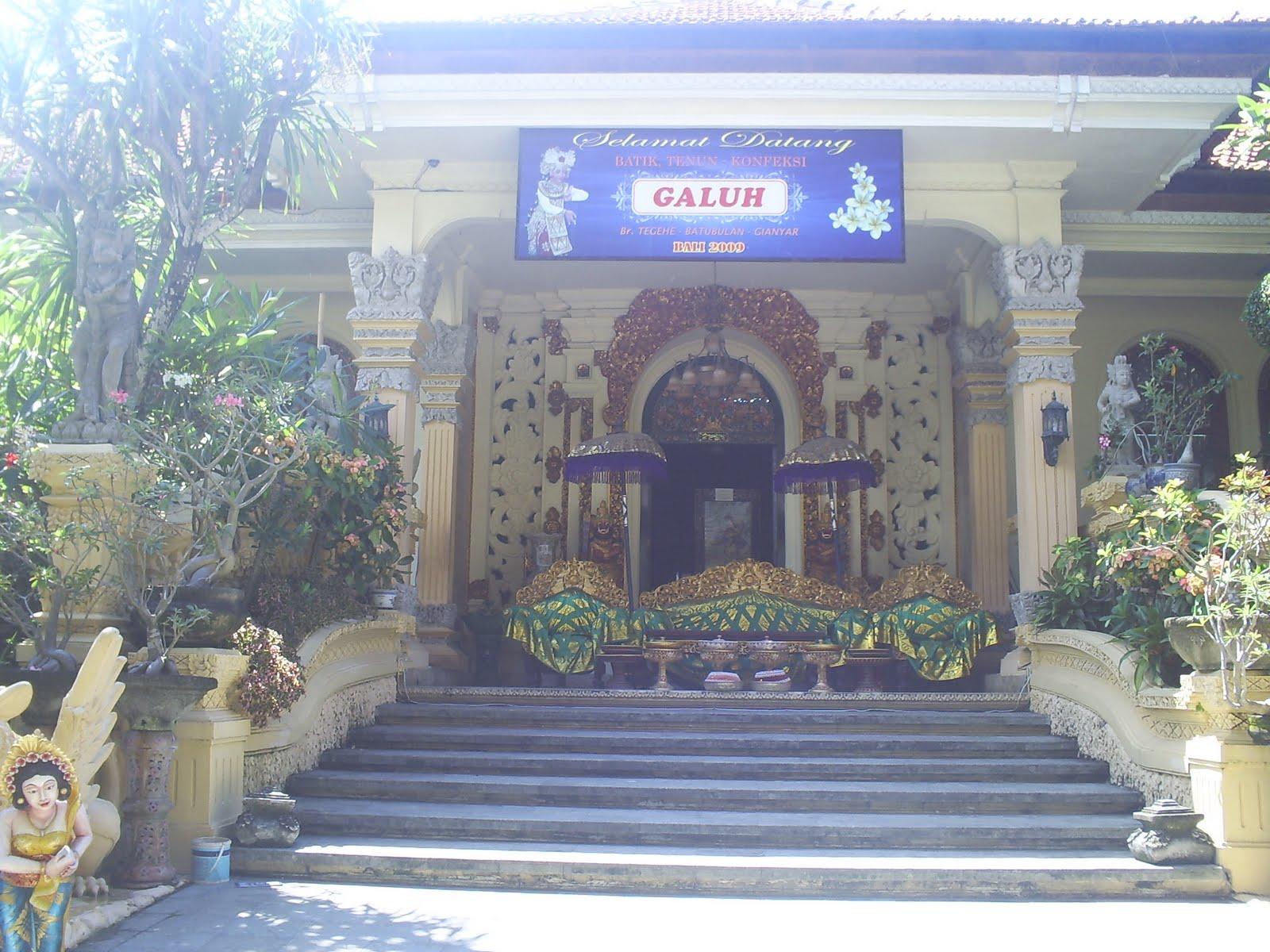 Rumah Adat Galuh Bali Rumah Sel