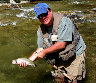 Wet wading in the Gallatin River - Peter Cammann steps back in time to fish a pool lodged in his memory from year before