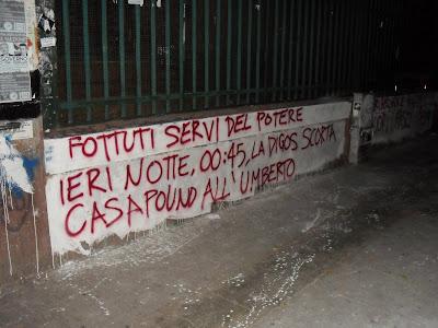 Palermo: aggressioni della polizia davanti al liceo Umberto I