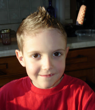Little boys Mohawk haircuts