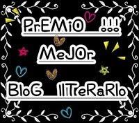 premio al mejor blog literarrio