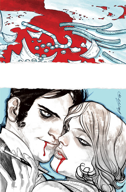 first look American Vampire No3 cover
