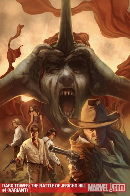 Dark Tower: Battle of Jericho Hill #4 Steve Kurth variant cover