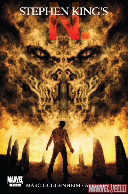 Stephen King's N. #1 cover