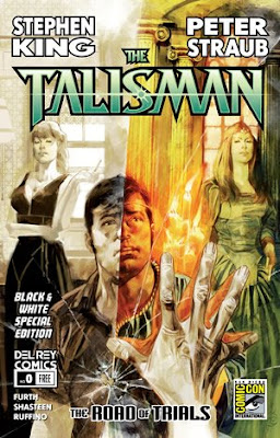 Cover for issue #0 of The Talisman