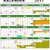 Kalender 2011 dan cuti-cuti