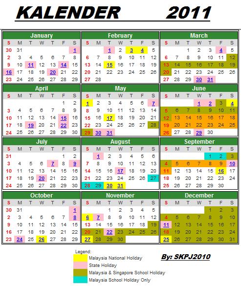 Citaten School Holiday : Sekolah kebangsaan padang jawa kalender dan cuti