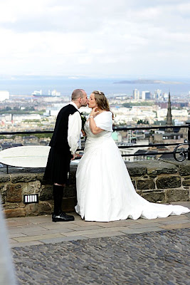 Edinburgh Castle Wedding Photographer