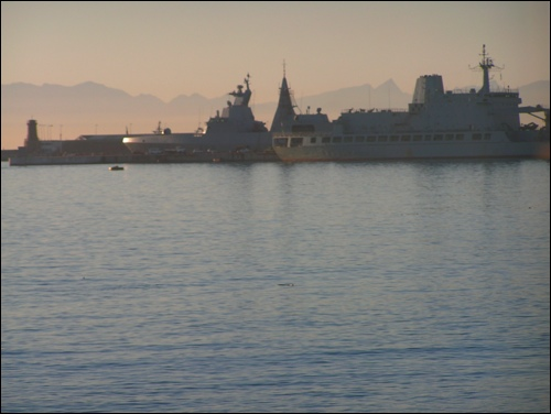 South Africa&#39;s Navy Base