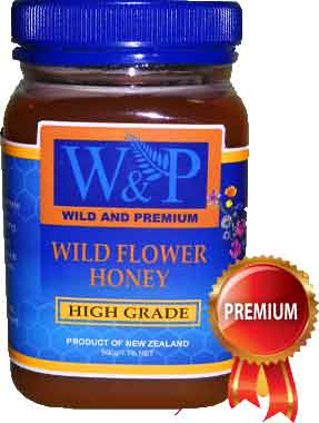 Manuka Honey Wild Flower High Grade | Madu Manuka New Zealand