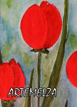 artemelza - pintando tulipas