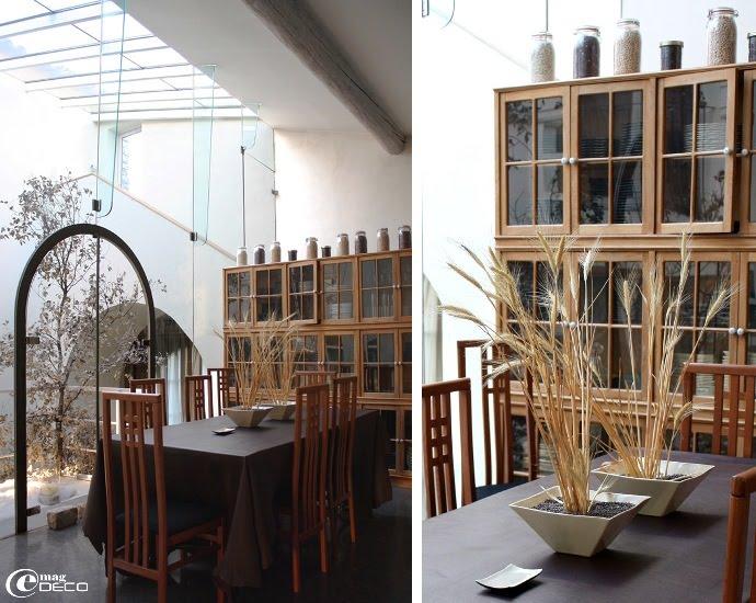 La salle à manger du Comptoir Saint-Hilaire