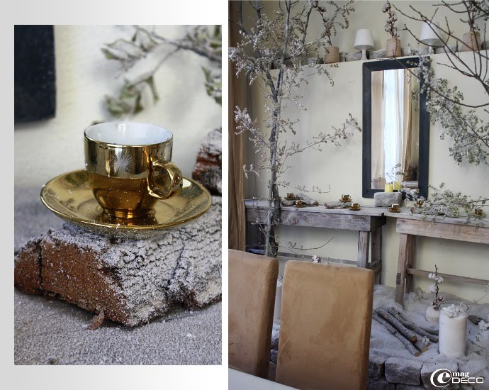 Décoration hivers de La Galerie, Grand salle