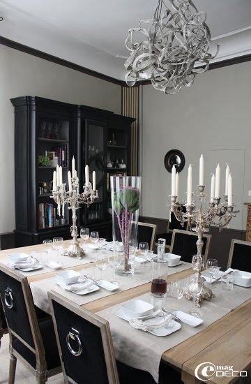 Salle à manger de la maison d'hôtes L'Albiousse