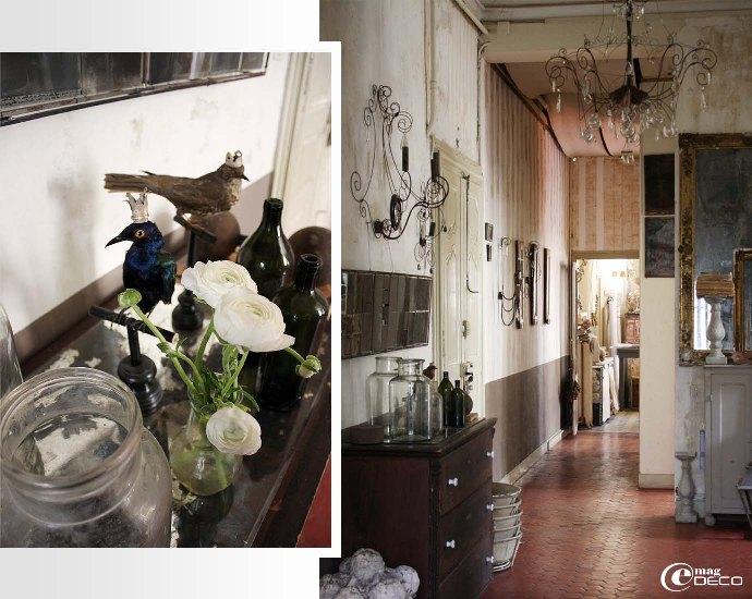 Le hall d'entrée de l'atelier-showroom « Vox Populi »