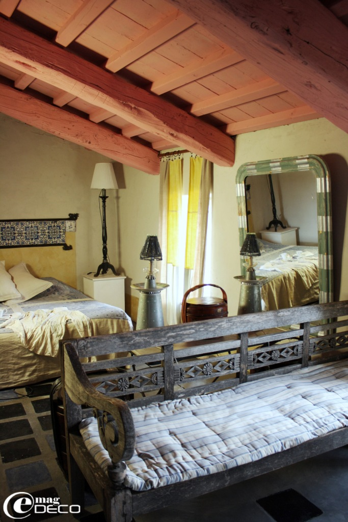 Chambre Venet, Maison d'hôtes de charme La Maison à Blauzac