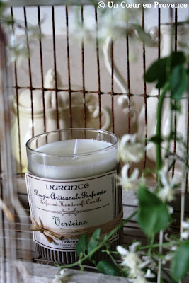 Verbena-flavored candle Durance