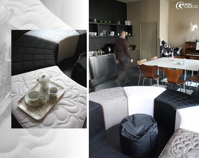 La pièce commune, le salon - Maison d'hôtes à Montpellier : Les 4 étoiles