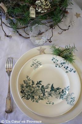 Old plates Longwy Mignon