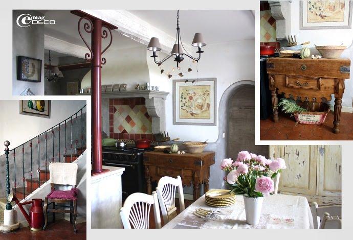 La cuisine, esprit provençal, du Mas de Bohème