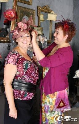 Martine Pech et Annie Aillet, boutique Petit Béguin à Uzès