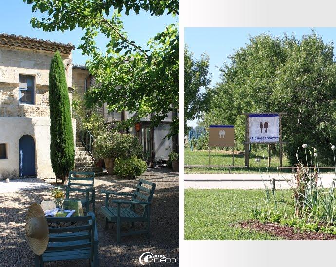 Restaurant La Chassagnette près d'Arles