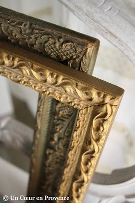 Olf golden frames