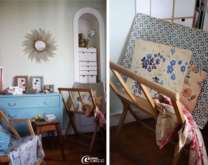L'appartement-atelier de Valérie Hubert, styliste en free-lance à Paris