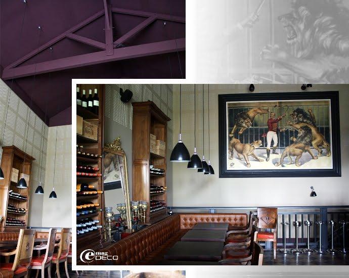 Le bar lounge de l'Hôtel Ville d'hiver à Arcachon