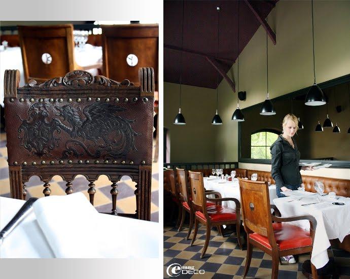 Salle du restaurant Hôtel Ville d'Hiver