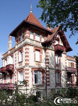 La Villa Terasa dans la Ville d'Hiver à Arcachon