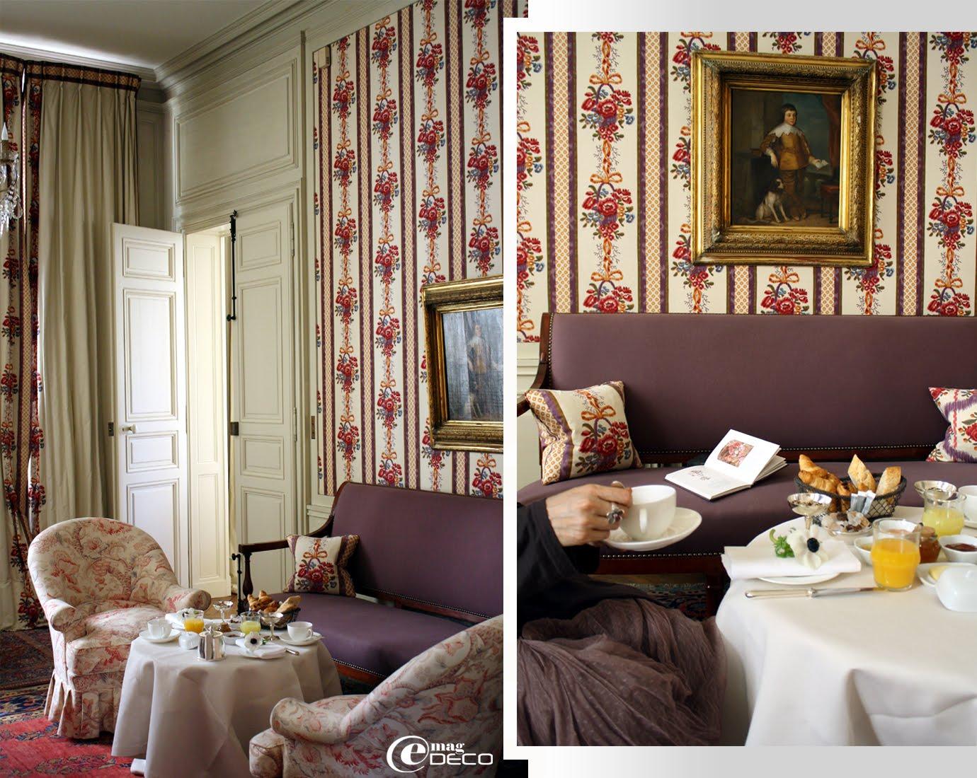 Une Suite de l'Hôtel La Mirande à Avignon