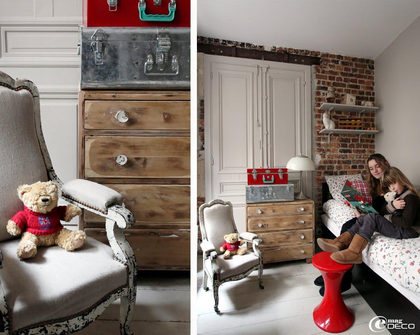 Chambre d'enfant, loft à Paris