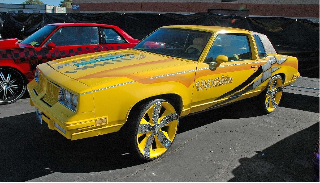 SOLVENT SOLUTIONS ROCKBOTTOM LOW Las Vegas Lowrider Super Show - Lowrider car show las vegas