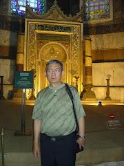 Di dalam masjid Aya Sofia
