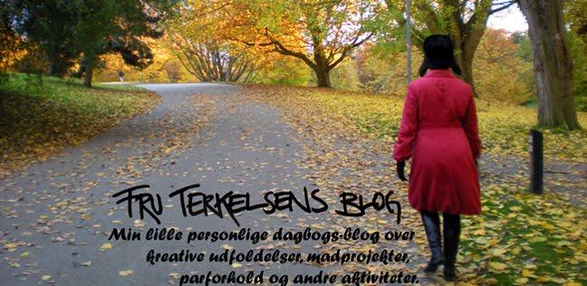 Fru Terkelsens blog om alt muligt...