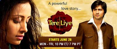 Watch Indian TV Serial: Watch Tere Liye - 23rd August 2010 Episode