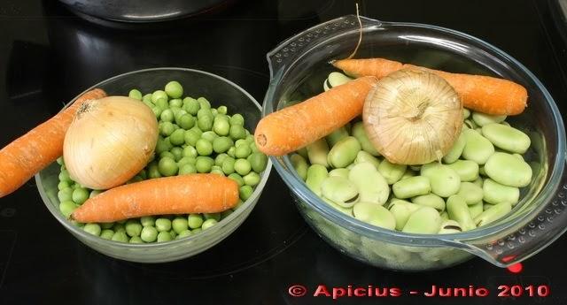 Menestra de verduras algunas rebozadas la cocina paso a - Como preparar menestra de verduras ...