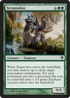 Qué es Magic, The Gathering Terastodon