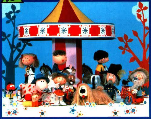 Image result for magic roundabout characters