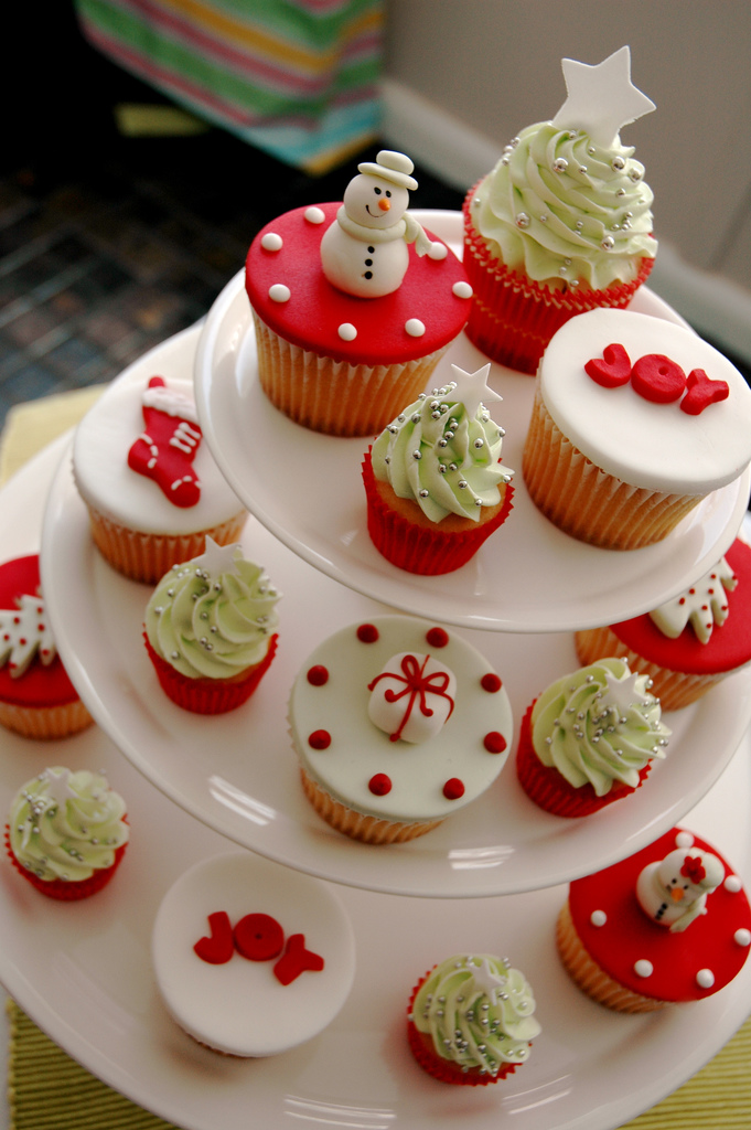 Christmas Cupcake Decorations : cupcake Christmas Cupcakes!