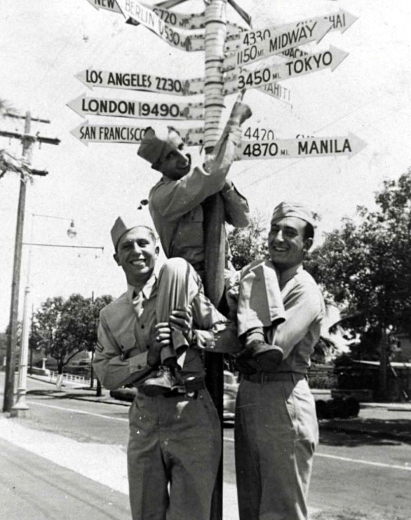Waikiki Time Machine Crossroads Of The Pacific Sign