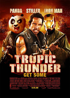 Tropic Thunder Crossover Poster