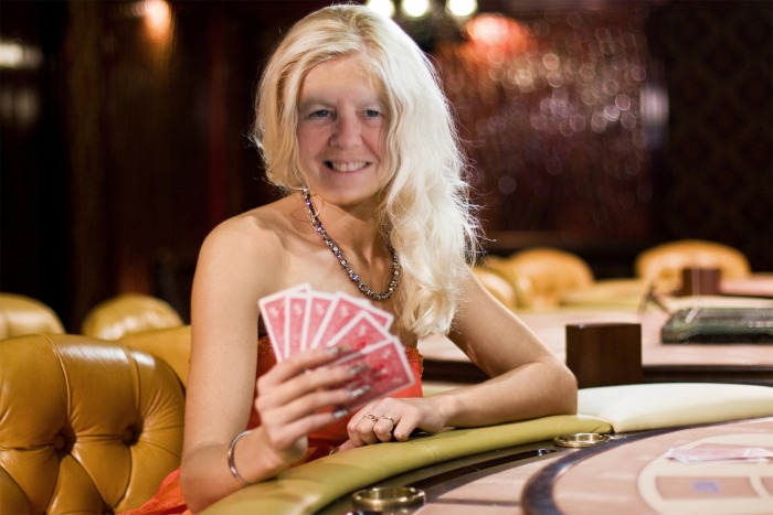 Just me playing some poker in Vegas