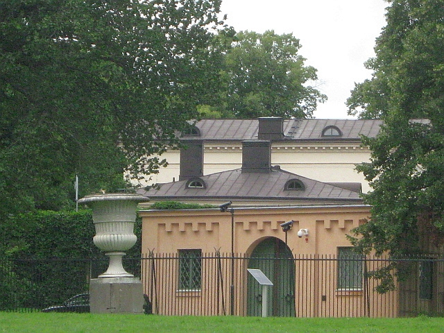 view of princess victorias house in stockholm